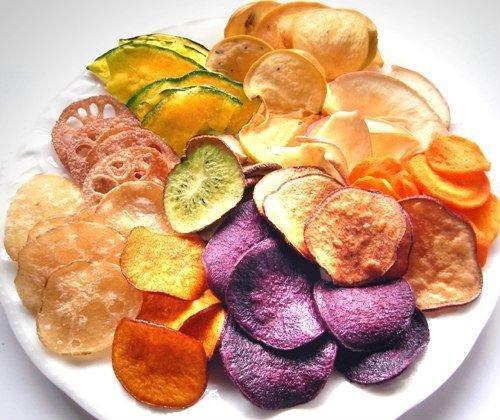 Sản phẩm của một số thực phẩm sau khi sấy